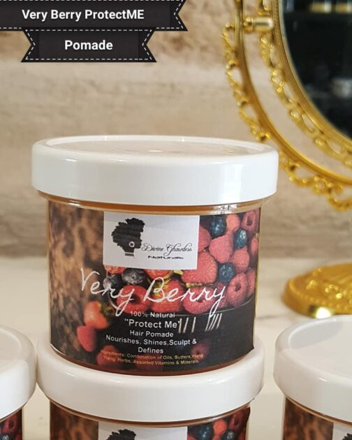 very berry hair pomade