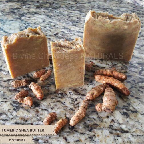 Tumeric Shea Butter w/Vitamin E
