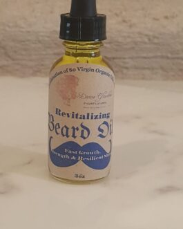 Revitalizing Beard Oil