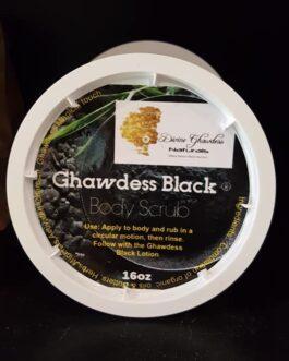 Ghawdess Black Body Scrub