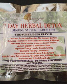 7 Day Herbal Detox (Capsules)