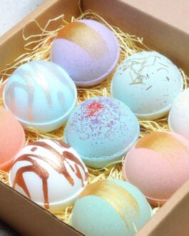 Bathbombs Gift Box (9 piece set)
