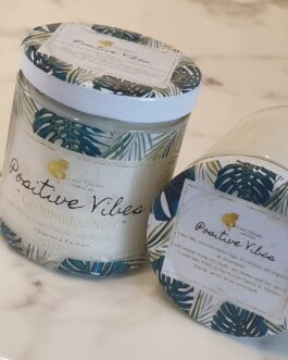 Positive Vibes White Sage Candle