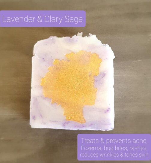 lavender and clary sage